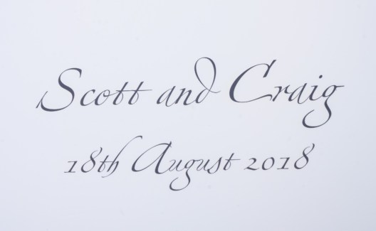 Scott and Craig Wedding album