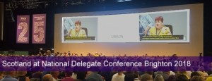 Aberdeenshire UNISON raises profile at National Delegate Conference
