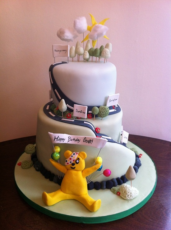 Abergavenny S Cake Making Supremo Gives Pudsey The Make