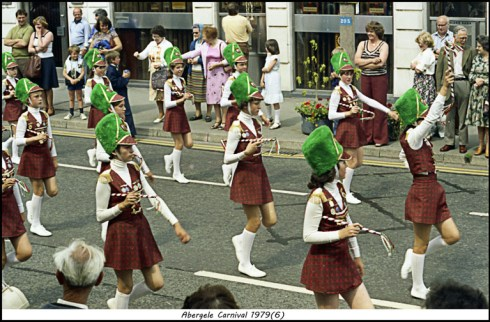 1979 Abergele Carnival photo by Dennis Parr