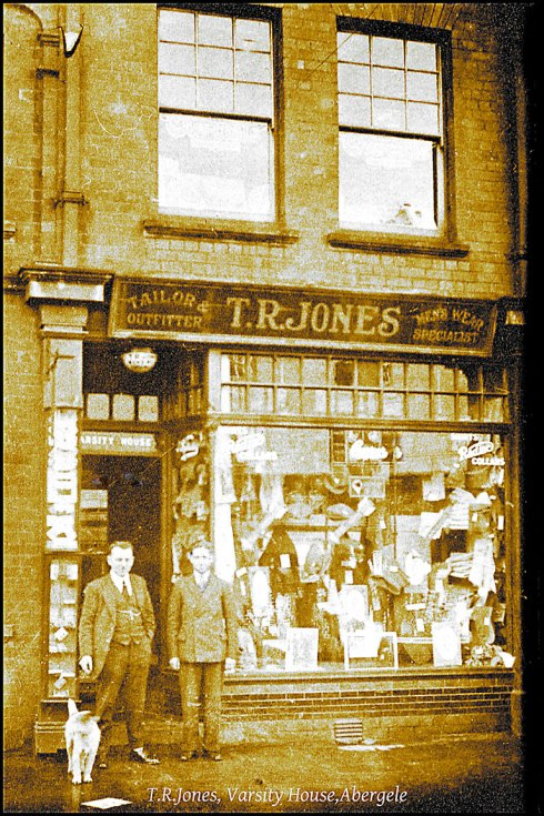 T R Jones shop Abergele from the Dennis Parr Collection.