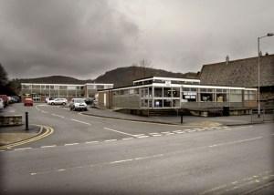 Abergele Library. Photo taken 2003-06 by Sion Jones
