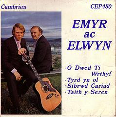 Emyr ac Elwyn Photo of 45rpm by Nic Dafis from Flickr