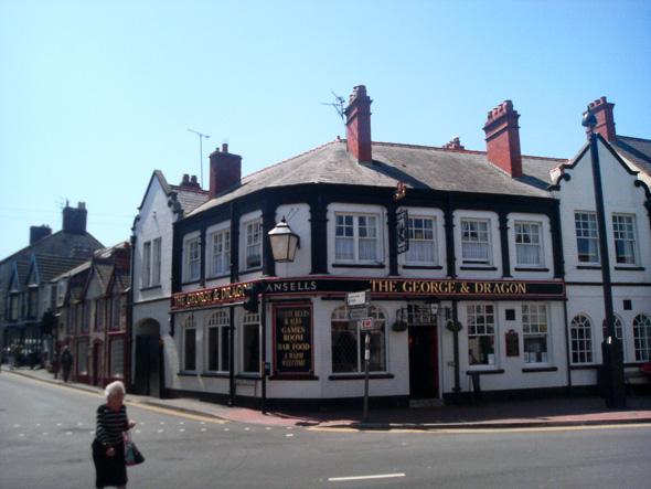 George and Dragon pub Abergele