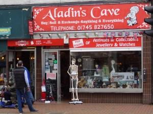 Aladin's Cave Skeleton