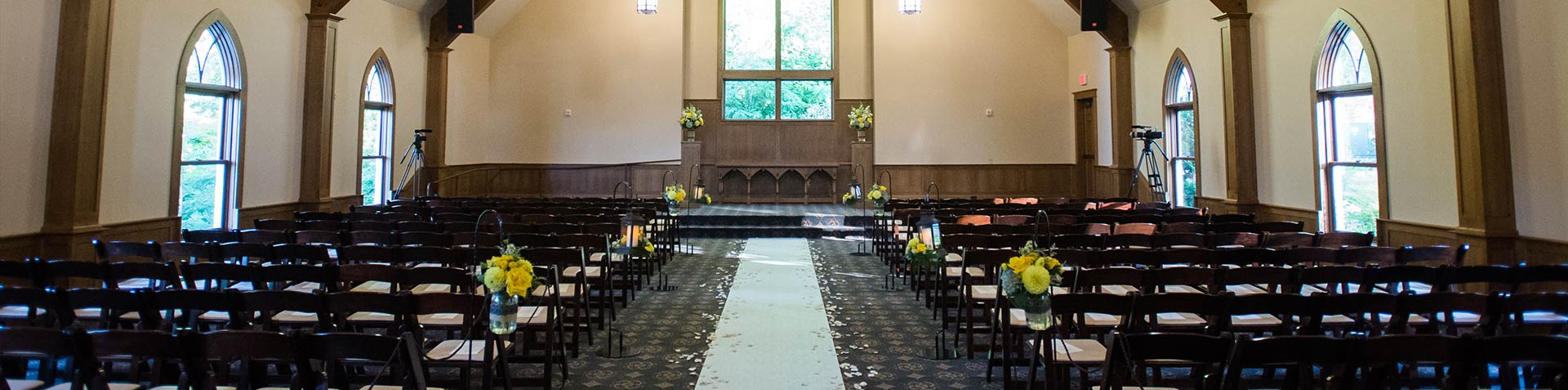 Portland Oregon Wedding Chapel Venue Abernethy Center