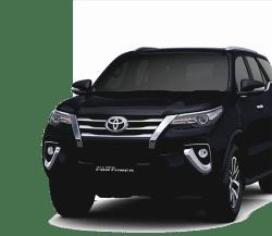 Harga rental mobil murah Fortuner di Bandung