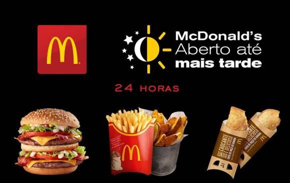 McDonalds 24 horas