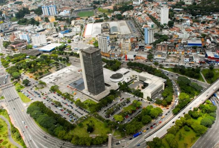Foto aérea de diversos prédios, representando abrir empresa em São Bernardo do Campo