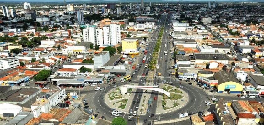 Foto do centro da cidade, representando abrir empresa em Feira de Santana