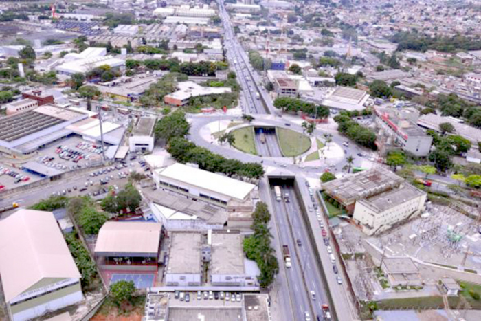 Foto aérea de Contagem, representando abrir empresa em Contagem - Abertura Simples