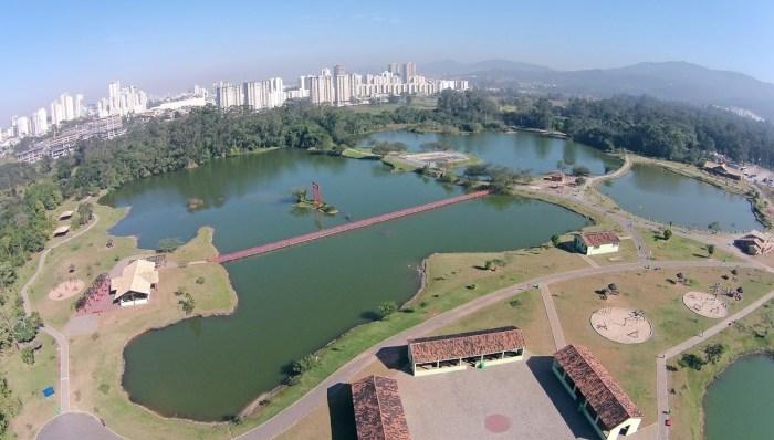 Foto aérea do município de Biritiba Mirim, representando abrir empresa em Biritiba Mirim - Abertura Simples