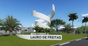 Letreiro da cidade de Lauro de Freitas, representando escritório de contabilidade em Lauro de Freitas - Abertura Simples