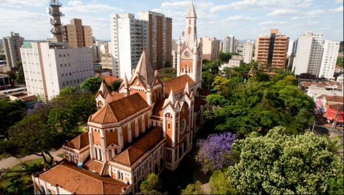 Foto aérea de Ribeirão Preto, representando escritório de contabilidade em Ribeirão Preto - Abertura Simples