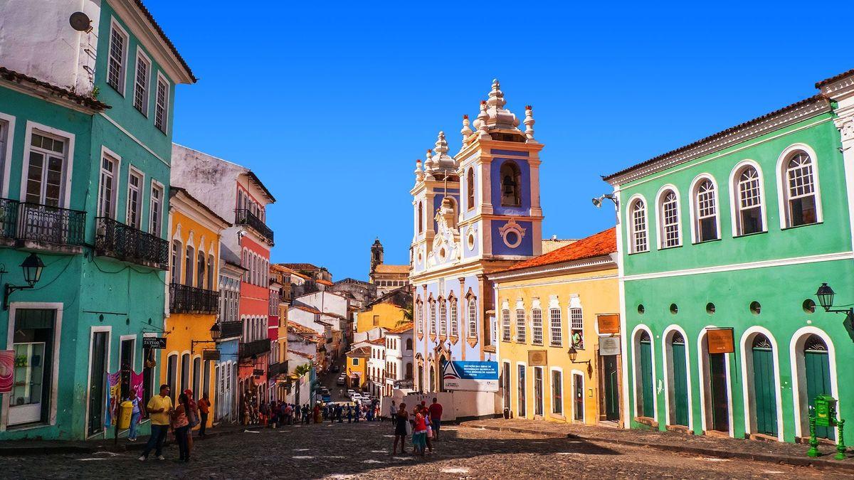 Foto do Pelourinho na cidade de Salvador, representando escritório de contabilidade em Salvador - Abertura Simples