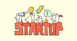Ilustração representando as Startups