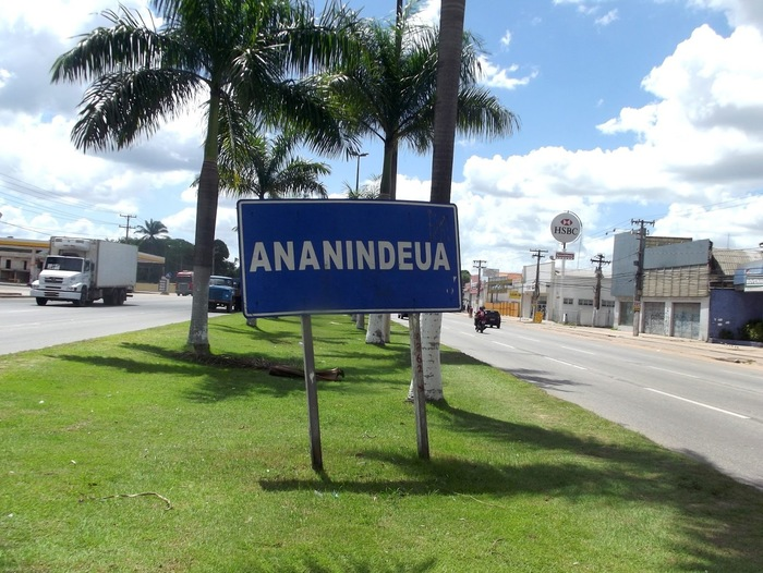 Placa de Ananindeua, representando abrir empresa em Ananindeua - Abertura Simples