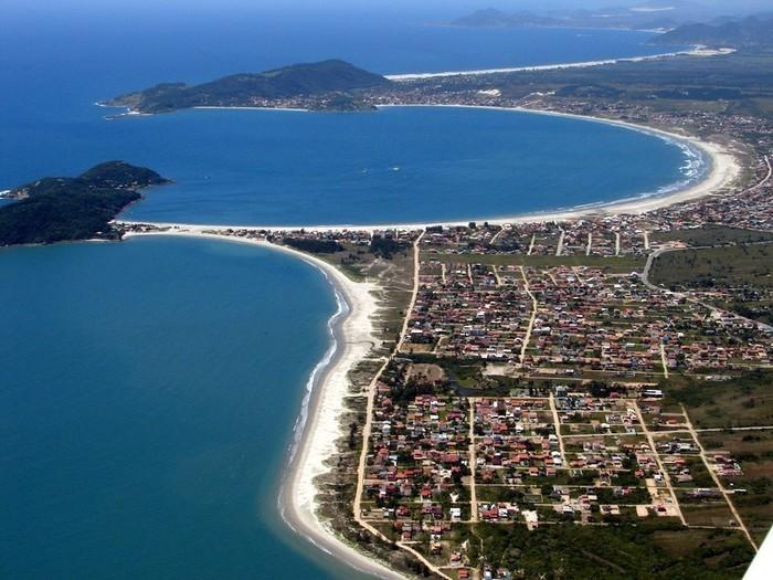 Foto aérea de Palhoça, representando abrir empresa em Palhoça - Abertura Simples