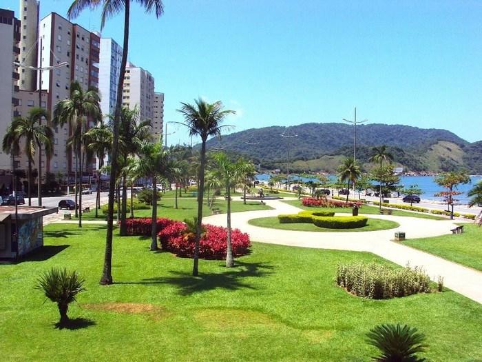 Praça na cidade de Santos, representando abrir empresa em Santos - Abertura Simples