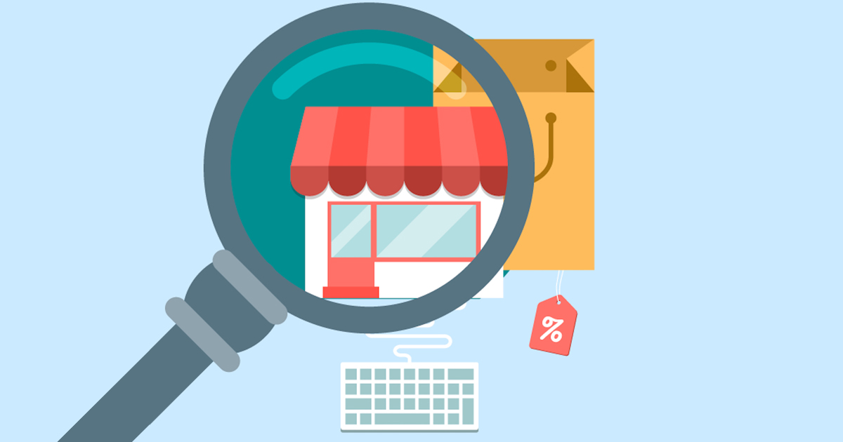 Vetor representando o Google Meu Negócio, ferramenta do Google que pode auxiliar a conseguir mais clientes