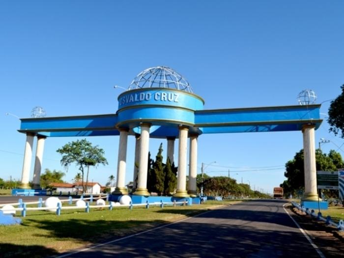 Portal da cidade de Osvaldo Cruz, representando escritório de contabilidade em Osvaldo Cruz - Abertura Simples