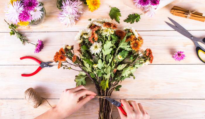 Flores, representando abrir uma floricultura - Abertura Simples
