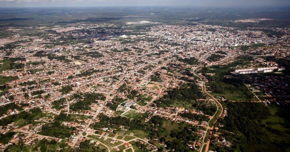 foto aérea da cidade, representando como abrir empresa em alagoinhas