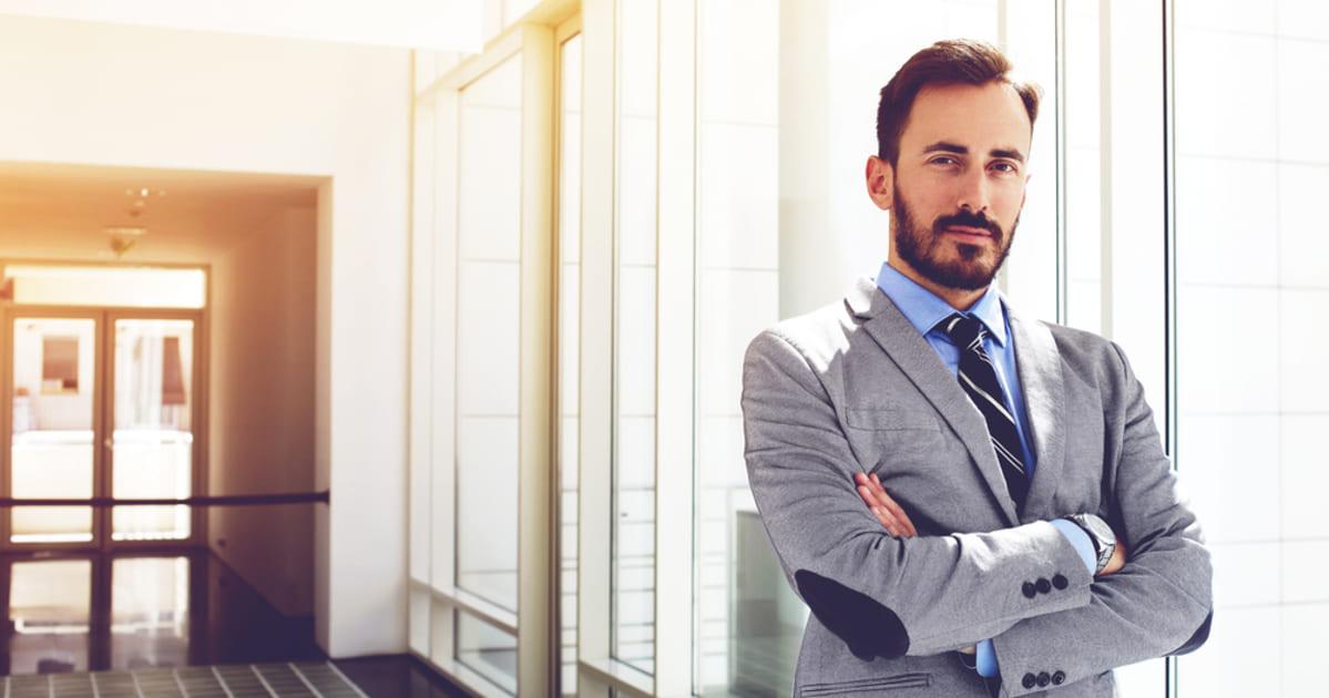 foto de um homem empresário, representando como empreender em Perdigão