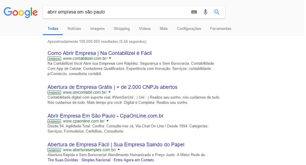 Imagem do google para exemplificar a inteligência artificial usada pelo Google Ads