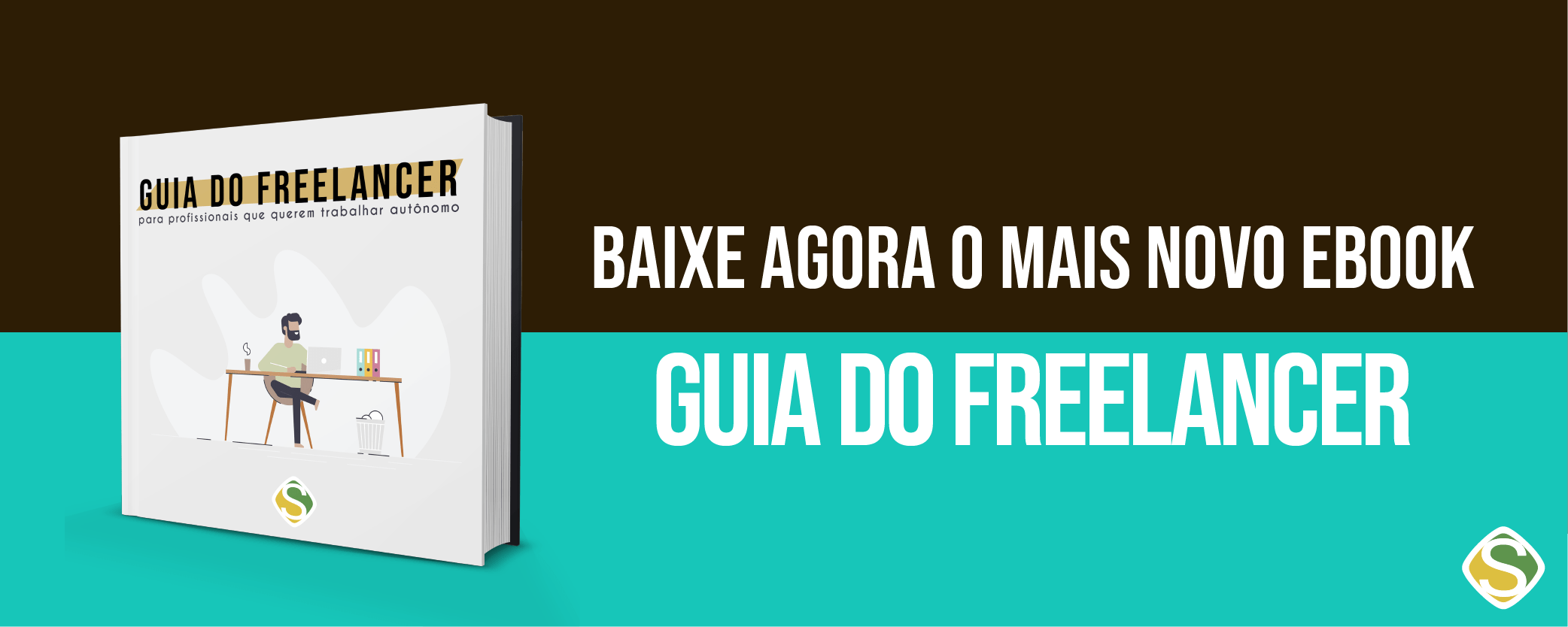 Banner do Ebook Guia do Freelancer