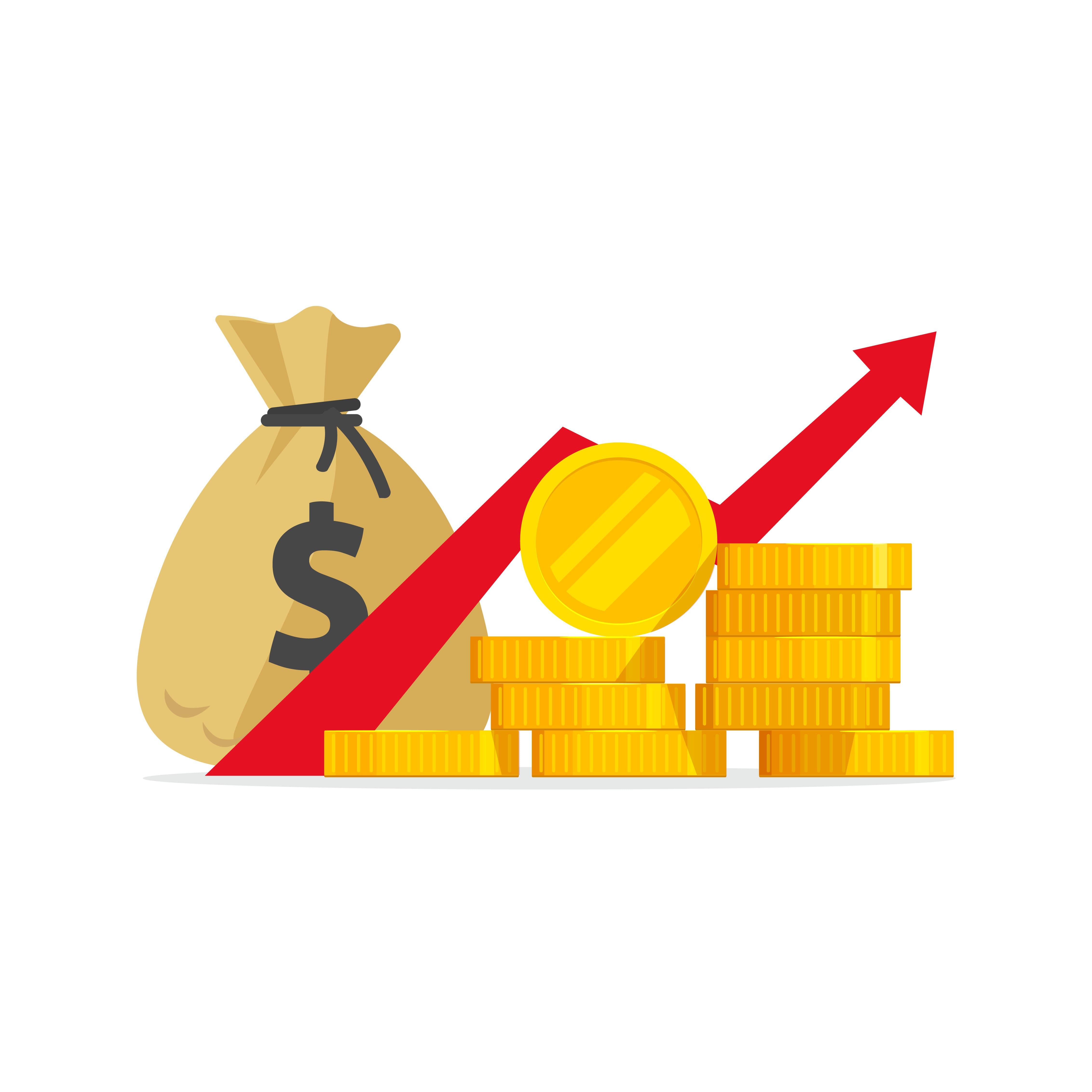 Imagem de dinheiro para remeter ao texto sobre como ter mais lucro em sua empresa
