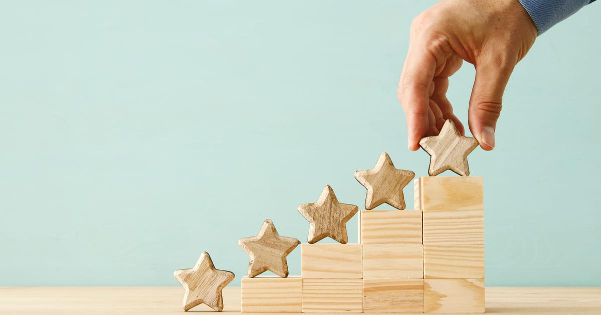 Imagem de um ranking para remeter as posições que o Brasil subiu para remeter a facilidade para abrir empresa