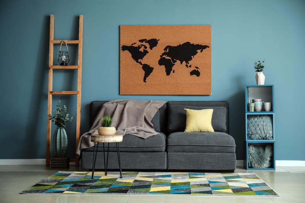 foto de uma sala constituída por uma empresa de decoração