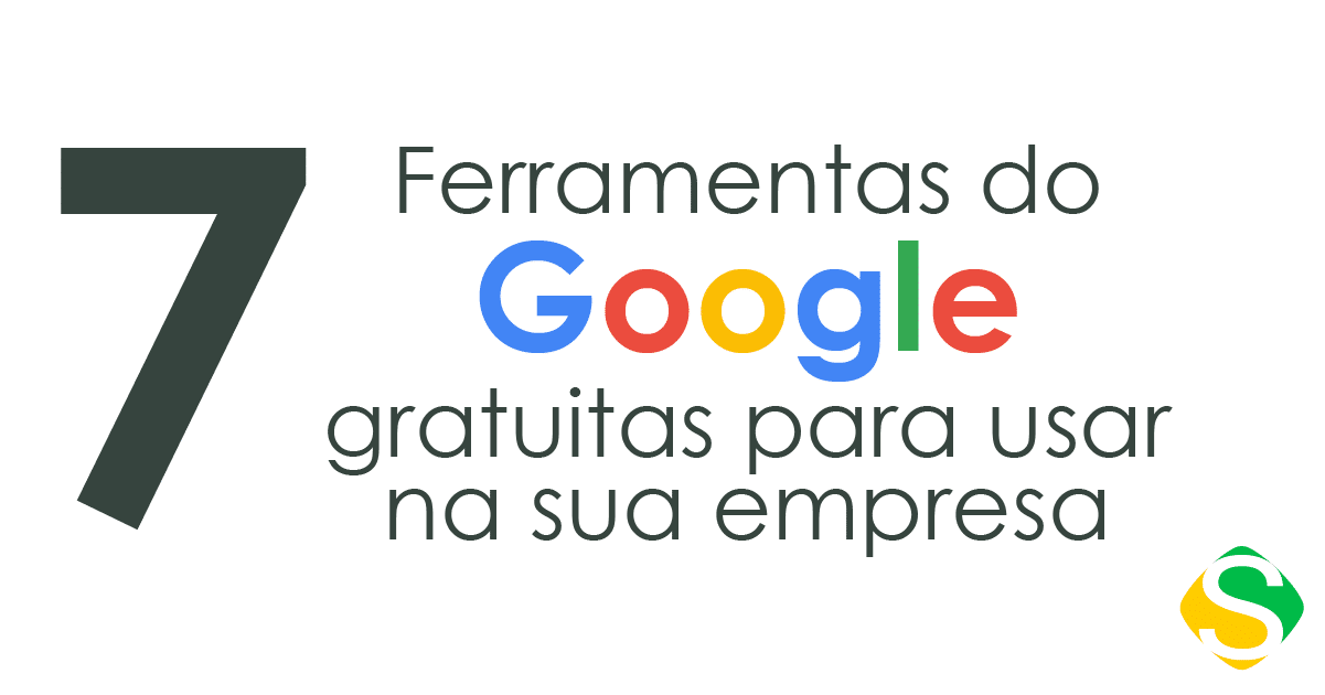 thumbnail do infográfico com sete ferramentas do google