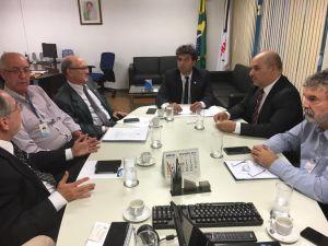 Reunião da Funasa: ações conjuntas para fortalecer o saneamento