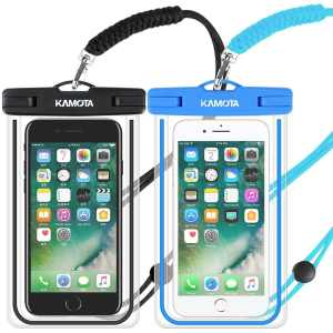2af5805ca13 KAMOTA Waterproof Case, IPX8 Universal Waterproof Phone Pouch Cases Dry Bag  with Military Lanyard