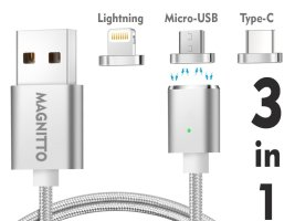 Top 10 Best Magnetic Cable Chargers For Table, iPhone & Android 2019 Review