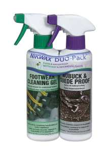 Nikwax Nubuck Duo Pack Suede Spray for Footwear