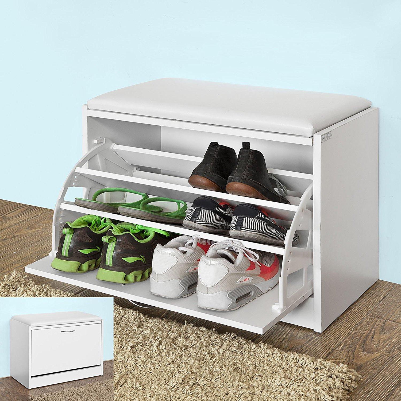 SoBuy Haotian FSR16 W Shoe Storage Bench