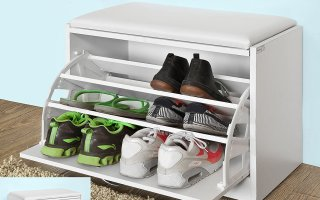 Top 10 Best Shoe Storage Bench in 2019 Review