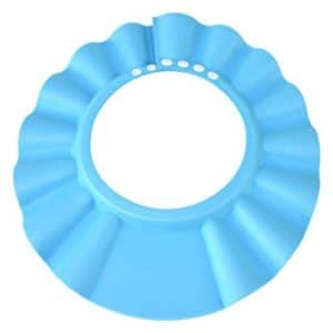 HOOYEE Safe Shampoo Shower Bathing Protection Bath Cap Soft Adjustable Visor Hat