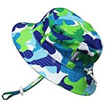 0c487006fd0a7 JAN   JUL Baby Toddler Kids 50+ UPF Size Adjustable Bucket Sun Hat