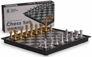 Top 10 Best wooden magnetic chess set 2020 Review