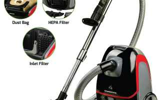 Top 10 Best Canister Vacuum Cleaner in 2018 Review