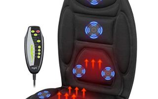 Top 10 Best Car Seat Massagers In 2018 Review
