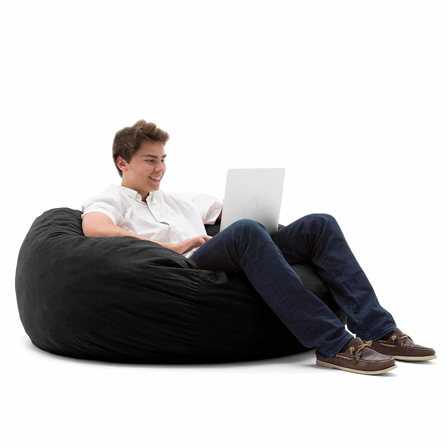 Big Joe Large Fuf Foam Filled Bean Bag Chair