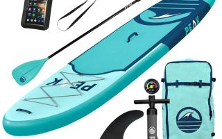 Top 10 Best Blow up Paddle Board in 2019 Review