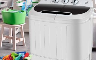 Top 10 Best Mini Washing Machine in 2019 Review