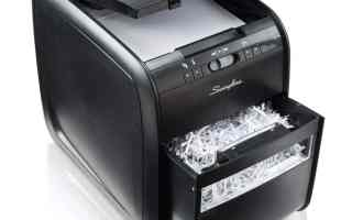 Top 10 Best Paper Shredding Machines in 2018 Review