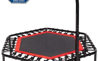 Top 5 Best Exercise Trampolines in 2018 Review